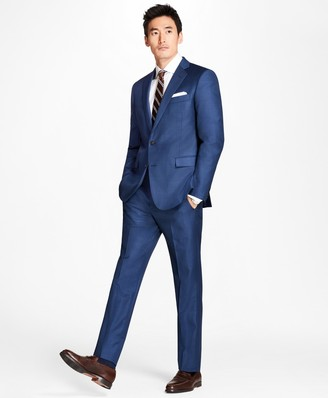 Brooks Brothers Regent Fit Sharkskin 1818 Suit