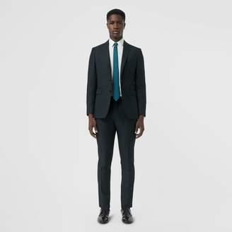 Burberry Slim Fit Wool Mohair Silk Suit