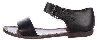 Bottega Veneta Leather Strap Sandals