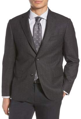 John W. Nordstrom R) Traditional Fit Microcheck Wool Sport Coat