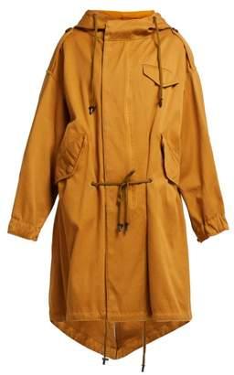 Etoile Isabel Marant Duffy Oversized Cotton Parka - Womens - Camel