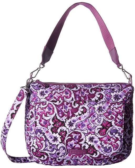 Vera Bradley Carson Shoulder Bag Shoulder Handbags - LILAC PAISLEY - STYLE