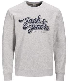 Jack and Jones Jorhalt Graphic Cotton Sweater