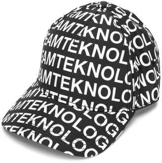 Diesel script printed cap