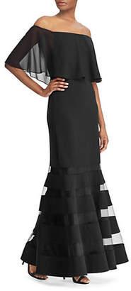 Lauren Ralph Lauren Shaynie Off the Shoulder Gown