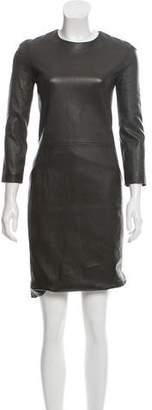 The Row Leather Sheath Dress w/ Tags