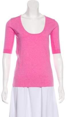 Minnie Rose Lightweight Three-Quarter Sleeve Sweater