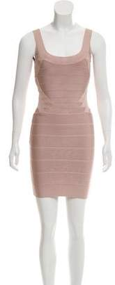 Herve Leger Mini Bodycon Dress
