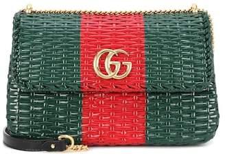 Gucci Wicker shoulder bag