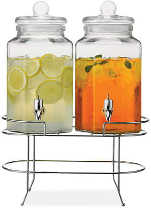The Cellar Double Dispenser with Stand, Created for Macy's