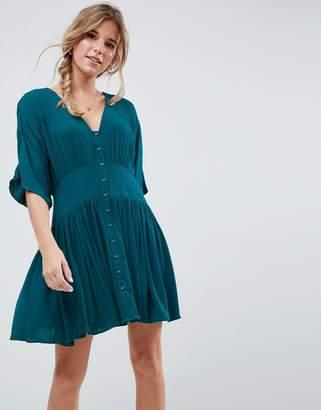 Asos Design Casual Mini Tea Dress