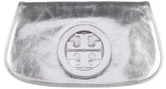 Tory Burch Tory Burch Metallic Bombe Clutch