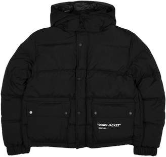 Off-White Off White Quote Down Jacket