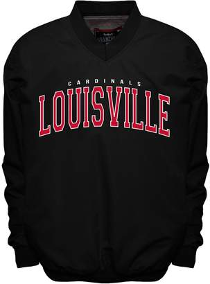 NCAA Men's Franchise Club Louisville Cardinals Members Windbreaker Pullover