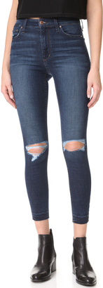 Joe's Jeans Charlie High Rise Skinny Crop Jeans $189 thestylecure.com