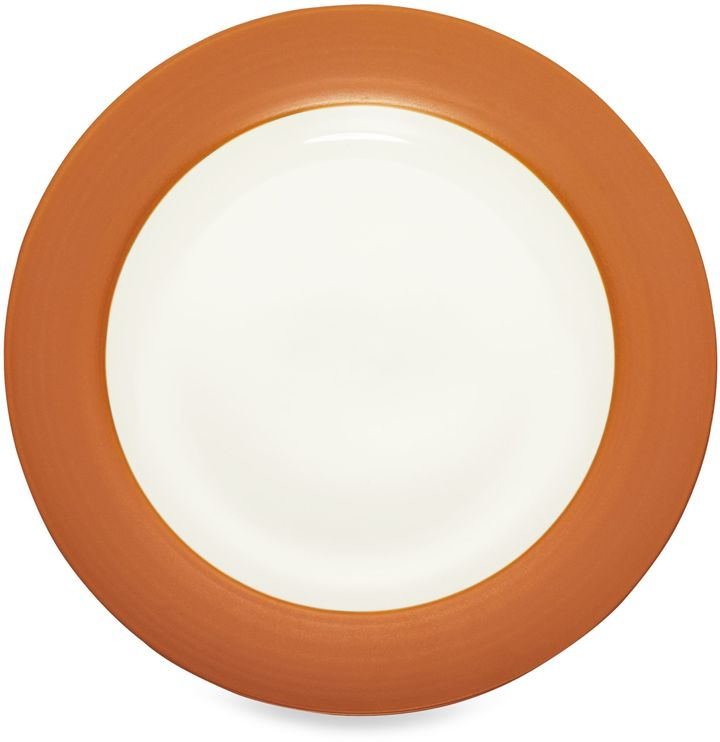 NoritakeNoritake® Colorwave Rim Round Platter in Terracotta
