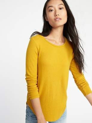 Old Navy Relaxed Plush-Knit Tee for Women