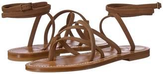K. Jacques Zenobie Velours Sandal