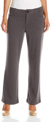 Lee Indigo Women's Petite Zola Ponte Knit Pant