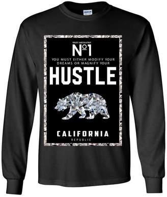 Co Dolphin Shirt California Republic No. 1 Diamond Hustle Long Sleeve Shirt - 3X-Large