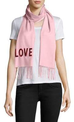 Gucci Loved Sequined Silk& Cashmere Scarf