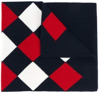 Moncler argyle scarf