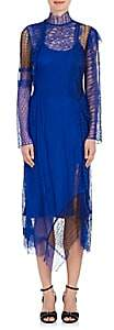 3.1 Phillip Lim Women's Patchwork Lace Dress - Electric Blu