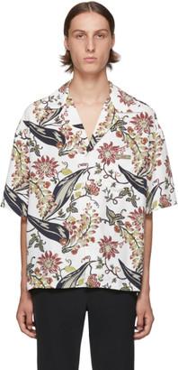 Prada Multicolor Floral Printed Shirt