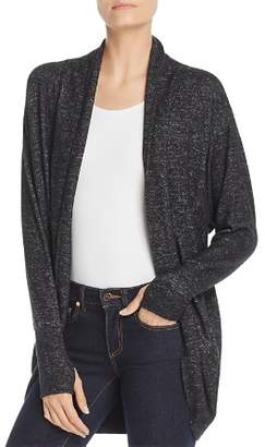 Andrew Marc Hachi Cocoon Wrap Cardigan