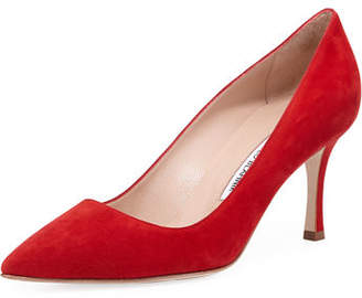 Manolo Blahnik BB Suede 70mm Pump