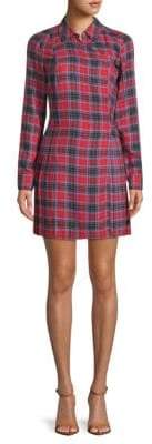 Opening Ceremony Plaid Mini Shirtdress