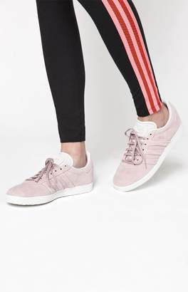 adidas Women's Pink Gazelle Stitch And Turn Sneakers