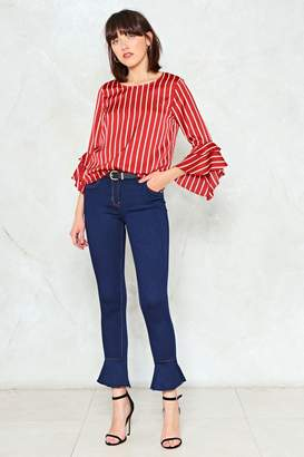 Nasty Gal Flare for Dramatics Skinny Jeans