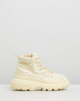 Missguided Double Sole Hiking Sneakers