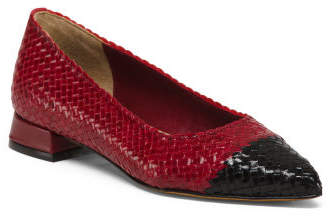Made In Spain Leather Cap Toe Flats