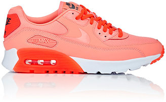 Nike Women's Air Max 90 Ultra Essential Sneakers-ORANGE $115 thestylecure.com