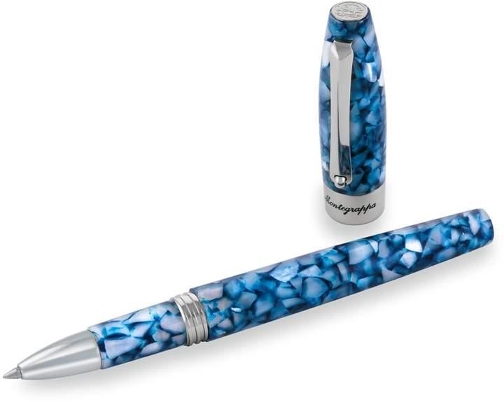 Montegrappa Fortuna Mosaico Marrakech Rollerball Pen, Blue