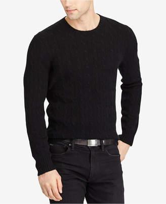 Polo Ralph Lauren Men's Cable-Knit Cashmere Sweater