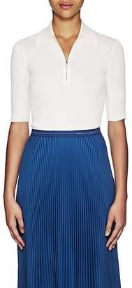 Prada Women's Cashmere-Silk Half-Zip Sweater