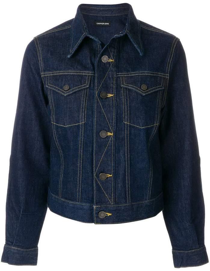 Calvin Klein 205W39nyc classic denim jacket