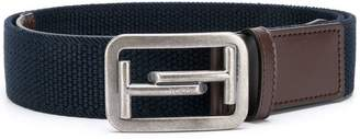 Tod's two tone buckle belt