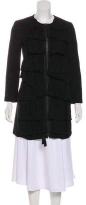 3.1 Phillip Lim Ruffled Wool Coat