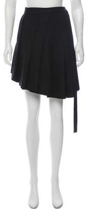 Hache A-Line Mini Skirt