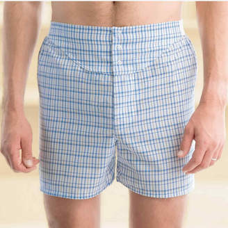 STAFFORD Stafford 3-pk. Woven Blended Cotton Yoke Front Boxers