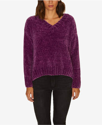 Sanctuary Chenille V-Neck Pullover Sweater