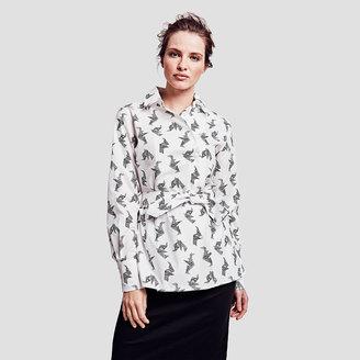 Amy Origami Print Shirt $250 thestylecure.com