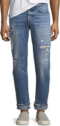 Hudson Men's Dixon Easy Straight Jeans, Landmark