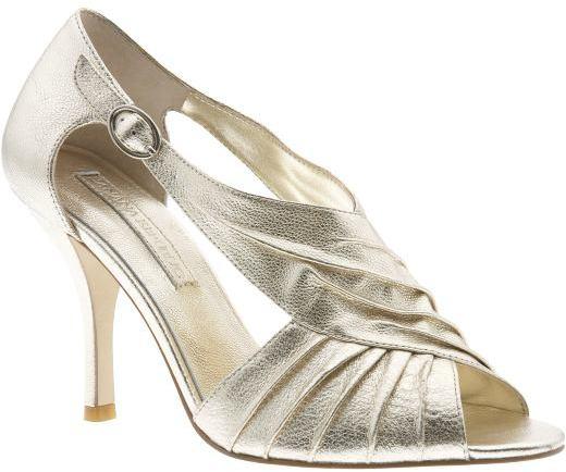 'Linette' criss-cross high heel sandal