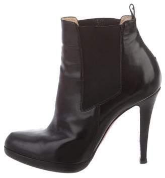 Christian Louboutin Platform Ankle Boots