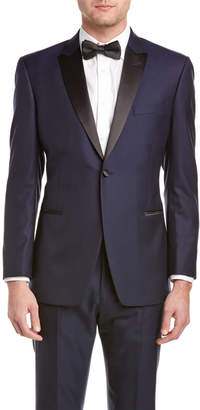 Ike Behar Super 120'S Tuxedo With Flat Front Pant